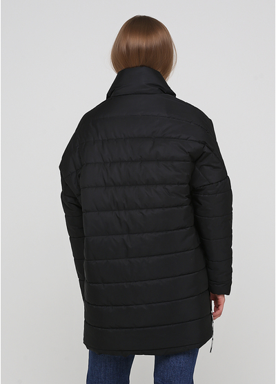 Черная демисезонная куртка Made in Italy