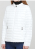 Біла демісезонна куртка W Collection