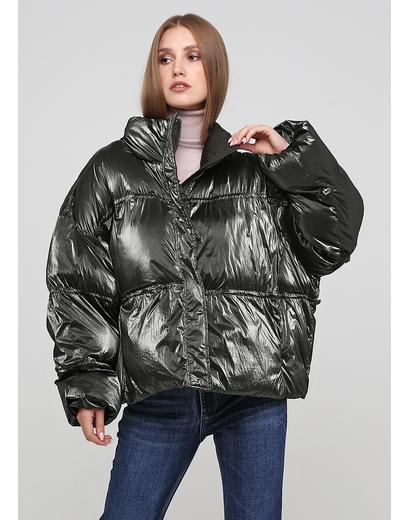 Оливковая (хаки) демисезонная куртка Fly luxury