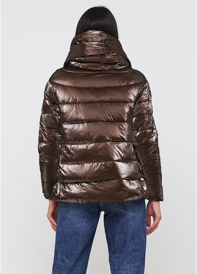 Коричневая демисезонная куртка W Collection