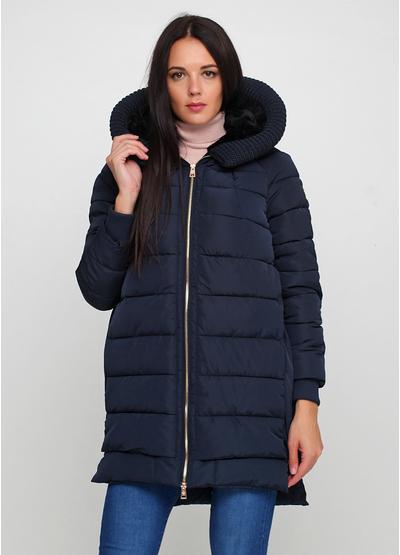Темно-синяя демисезонная куртка Anna Moda Piu