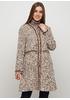 Бежевое демисезонное пальто Normcore firenze