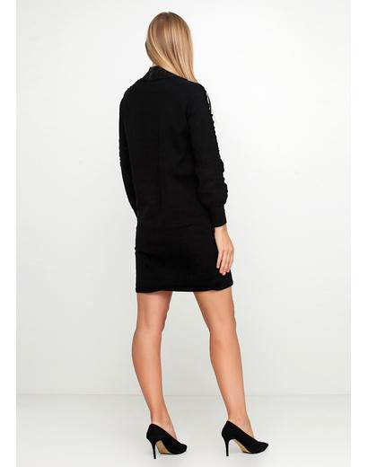 Черное платье Kubera однотонное