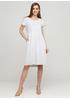 Светло-серое платье платье-футболка New Colection с надписью