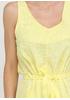 Желтое кэжуал платье а-силуэт Made in Italy однотонное