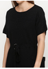 Черное повседневное платье футляр Lara однотонное