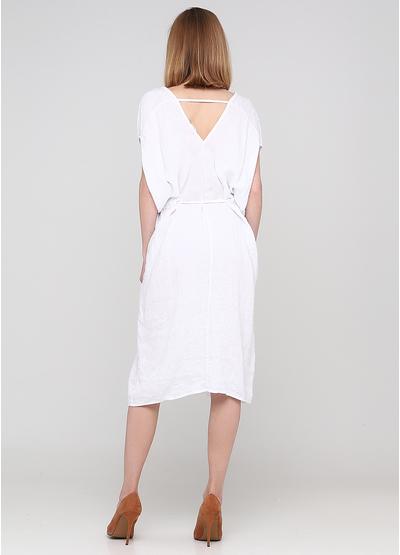Білий кежуал сукня оверсайз Made in Italy однотонна