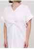 Білий кежуал сукня Made in Italy однотонна
