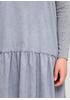Серое повседневное платье а-силуэт Beauty Women однотонное
