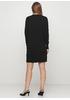 Черное повседневное платье футляр Beauty Women однотонное