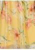 Желтое кэжуал платье Moda Italia с цветочным принтом