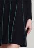 Темно-синя кежуал сукня кльош Finery в смужку