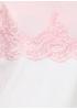 Белое повседневное платье а-силуэт Beauty Women однотонное