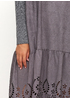 Серое платье оверсайз Beauty Women однотонное