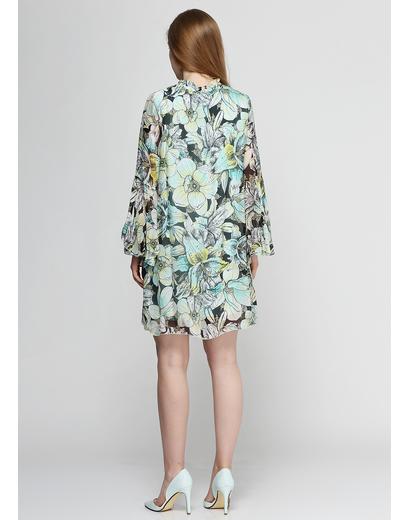 Светло-зеленое платье Brigne
