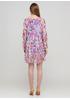Комбінована кежуал сукня а-силует Made in Italy з абстрактним візерунком