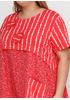 Женское летнее Платье миди New Collection с цветочным принтом