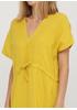 Желтое кэжуал платье оверсайз Made in Italy однотонное
