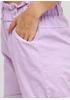 Шорты Moda Italia однотонные лиловые кэжуалы хлопок