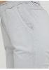 Шорты Moda Italia однотонные светло-серые кэжуалы хлопок