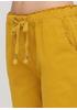 Шорты Moda Italia однотонные жёлтые кэжуалы хлопок