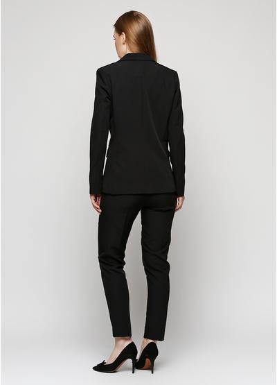Черный демисезонный повседневный костюм Baratto однотонный