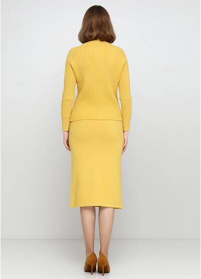 Костюм (свитер, юбка) Max long fashion
