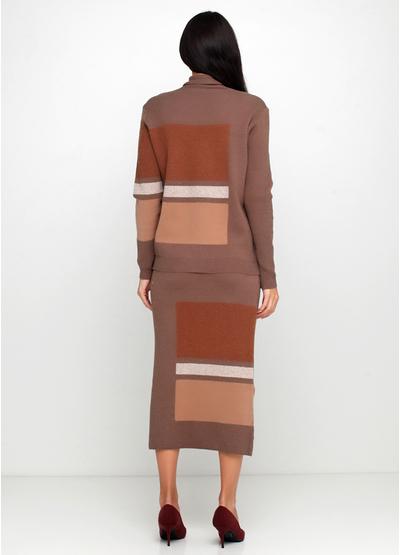 Костюм (свитер, юбка) New Collection