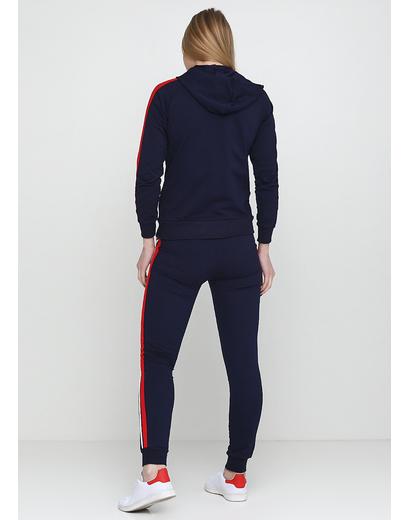 Темно-синий демисезонный спортивный костюм California & Smiss однотонный
