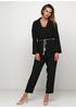 Черный демисезонный повседневный костюм Normcore firenze