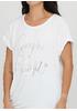 Белая летняя футболка New Collection
