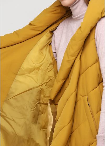 Жилет Fly luxury однотонный жёлтый